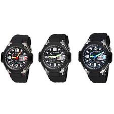 Fashion Multifunctional Digital Analog Dual Time Watch Men Sport Wristwatch 62CU