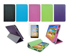 Folio Skin Cover Case and Screen Protector for Dell Venue 8 3840 Tablet