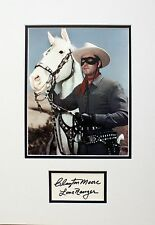 THE LONE RANGER CLAYTON MOORE SIGNED IN PERSON AUTOGRAPH