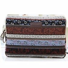 Canvas Fabric Netbook Laptop Notebook Computer MacBook Air Sleeve Case Bag Cover