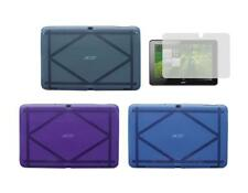 TPU Gel Skin Cover Case and Screen Protector for Acer Iconia A700 Tablet