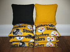 Pittsburgh Steelers Cornhole Bags, Baggo, Bag Toss, Corn Toss, Corn Hole, NFL