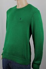 Polo Ralph Lauren Green Crewneck Sweater Navy Blue Pony NWT
