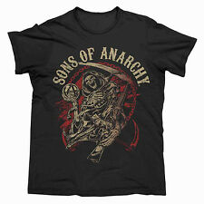 SOA Sons Of Anarchy Reper Men's T Shirt ALL SIZES S M L 2XL 3XL 3XL Christmas