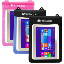 Waterproof Pouch Bag Case for Toshiba Thrive AT10 / Acer Iconia Tab 10 10.1-Inch