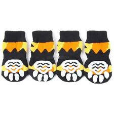 4PCS Pet Dog Puppy Indoor Cotton Anti-slip Knit Weave Warm Sock Skid Bottom G81