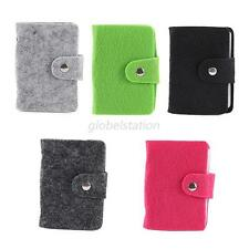 Womens Pouch ID Credit Card Wallet Cash Holder Case Box Pocket Multi-Colors G84