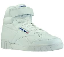 NEW Reebok Ex-O-Fit Hightop Sneaker Sports Fitness Trainers Classic white 3477