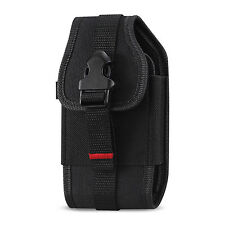 "Heavy Duty Rugged REIKO Carrying Side Case Pouch Holster Clip with 2"" Belt Loop"