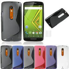 Flexible S-line Rubber Soft Gel Tpu case cover skin for Motorola Droid Maxx 2