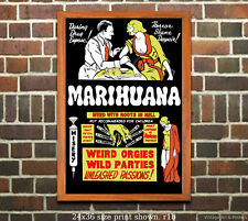 Reefer Madness #5 - Restored Vintage Film-Movie Poster 6 sizes matte gloss avail