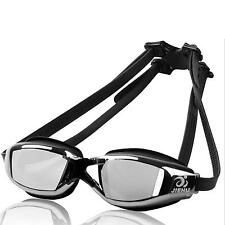 """X"" Nose Clip Anti-Fog UV Eyecare Swimming Diving Adjustable Goggles Glasses"