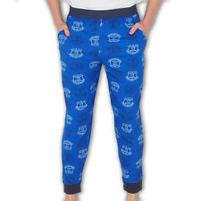 Everton FC Official Football Gift Mens Lounge Pants Pyjama Bottoms Blue