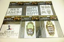 DUCK DYNASTY DECAL HAPPY HAPPY HAPPY HEY JACK DUCK DYNASTY NEW IN PACKAGE
