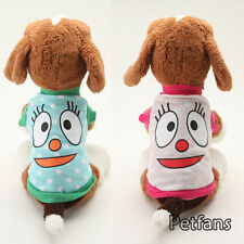 Cute Face Dog Hoodies Sweater Clothes Pet Puppy Clothes Coat Cat Costume Jacket