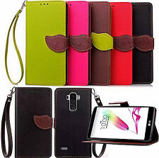 New Pu Leather Wallet Flip Stand Card Slot Phone Case Cover For LG G4 Stylus 4G