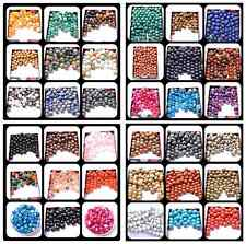 Wholesale Natural Gemstone Round Spacer Loose Beads Pick 4MM 6MM 8MM 10MM 12MM