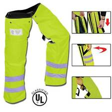 Zipper Style Chainsaw Chaps,Meets the Leg Protection Requirements for OSHA