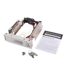 """3.5"""" S-ATA HDD-ROM Hard Disk Drive Mobile Rack w/ Cable for SATA Hard Drive WHI"""