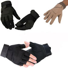 Military Tactical Cycling Bike Motorcycle Airsoft Army Hunting Paintball Gloves