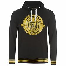 Everlast Classic Boxing Hoody Sweater Mens Black Jumper