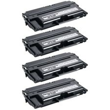 4-PACK Compatible High-Yield Black Toner Cartridge for DELL 1815dn 1815n Printer