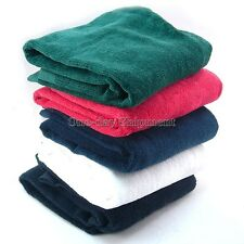 Quality Tri-Fold Golf Sports Hiking Cotton Towel With Hanging Ring Carabiner