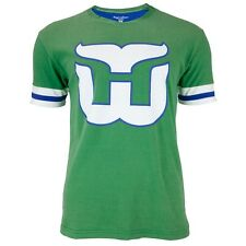 Hartford Whalers - Logo Hat Trick Adult Jersey T-Shirt