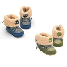 Fashion Unisex Baby Snow Boots Soft Crib Shoes Toddler Prewalker Boots Shoes Hot