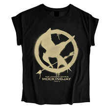 The Hunger Games MOCKINGJAY Ladies Womens Girls T Shirt Birthday Christmas Gift