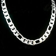 Free shipping hot silver chain necklace chain width EP amazing men's 4mm7mm12mm