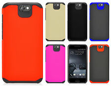 For HTC One A9 HARD Astronoot Hybrid Hard Rubber Silicone Case Phone Cover