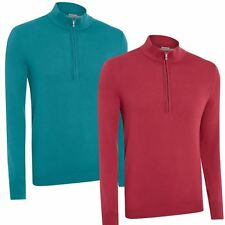 CLEARANCE! Ashworth 2016 Prima Cotton 1/2 Zip Thermal Sweater Mens Golf Pullover