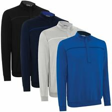 Ashworth 2016 Performance EZ-SOF Wind-Lined Thermal Sweater Mens Golf Pullover