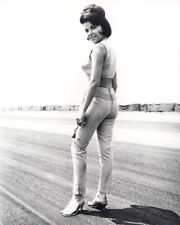 ANNETTE FUNICELLO BARE MIDRIFF POSE ON RACETRACK PHOTO OR POSTER
