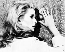 CATHERINE DENEUVE BELLE DE JOUR B&W PHOTO OR POSTER