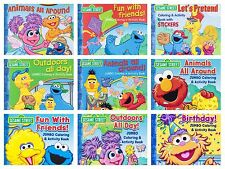 Sesame Street Elmo Abby Zoe Big Bird Coloring Activity Book 1ct Party Favor