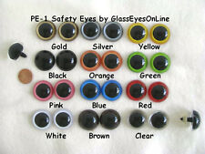 11 PAIR MIX COLOR 27 or 30mm Large Plastic Safety EYES Teddy Bears, Puppets PE-1