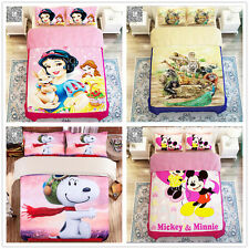 Lovely Cartoon Quilt/Duvet Cover Set King Queen Double Single Bed New Polyester