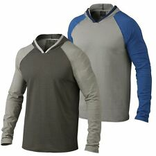 Oakley 2015 Layback Hoodie Ribbed Cover-up Mens Training Top LS Knit Shirt