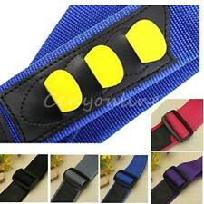 Guitar Strap With 3 Pick Holders for Electric Acoustic Guitar Bass Leather Ends