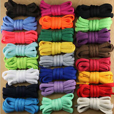 1 Pair Oval Athletic 51'' 7mm Shoelaces Sports Sneaker Boots Shoe Laces Strings