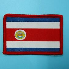 Costa Rica National Flag Iron on Sew Patch Badge Embroidered Biker Motor Car Lot