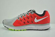 Mens Nike Zoom Vomero 9 Running Shoes Size 10.5 Grey Black Red White 642195 006