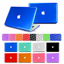 "For Apple Macbook 13"" Air Pro Crystal Clear Hard Case +Keyboard Cover"