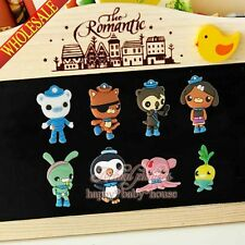 Mix 100PCS The Octonauts Cartoon Fridge Magnets,Office Supplies Kids Party Gifts