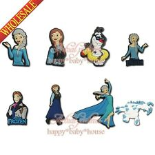 8PCS Froze Elsa Olaf Lovely PVC Fridge Magnets,Cartoon Magnetic Stick Kids Gifts