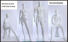 Abstract Mannequins white Skin colour in Matte new Figures