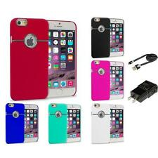 For iPhone 6 Plus (5.5) Hard Deluxe Chrome Rear Slim Case Cover Accessories