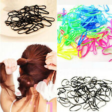 Lots Baby Rubber Hairband Rope Ponytail Holder Elastic Hair Band Ties Braids New